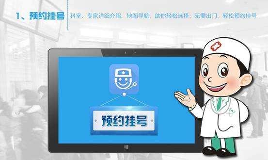 西安高新医院网上预约挂号流程示意图